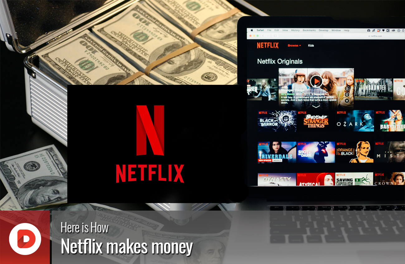 Here is How Netflix makes money