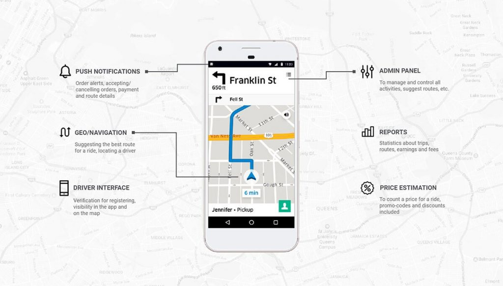 How much does it cost to make a Taxi App like Uber ...