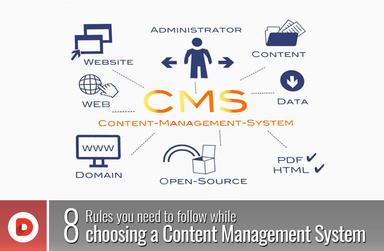 8 Rules You Need To Follow While Choosing A Content Management System