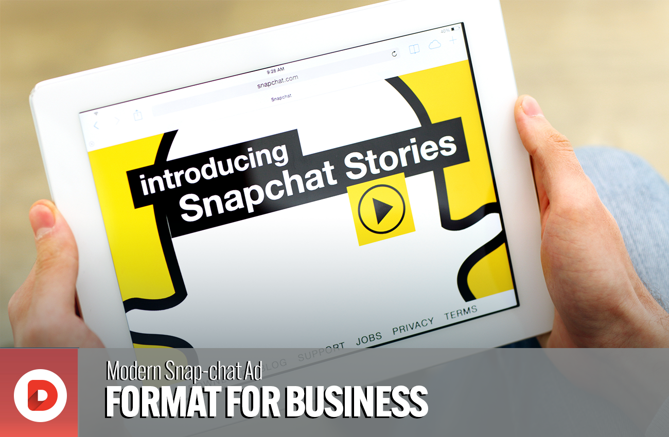 Reach an engaged audience with Modern Snapchat Ad format for Business [2021 Guide]